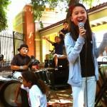 Leila Adaza singing